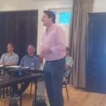 Guest speaker Prof Barney Jordaan